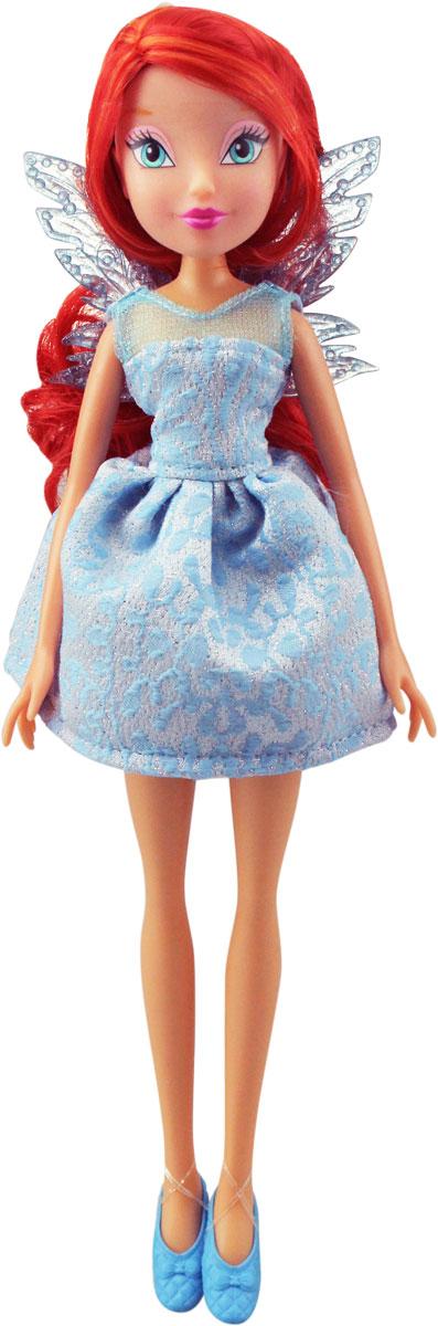 Winx Club Кукла Мисс Винкс BloomIW01201500_BloomКукла Winx Club Мисс Винкс Bloom покорит сердца юных модниц. Руки и ноги куклы не сгибаются. В набор входят кукла в одежде и обуви и съемные пластиковые крылышки.