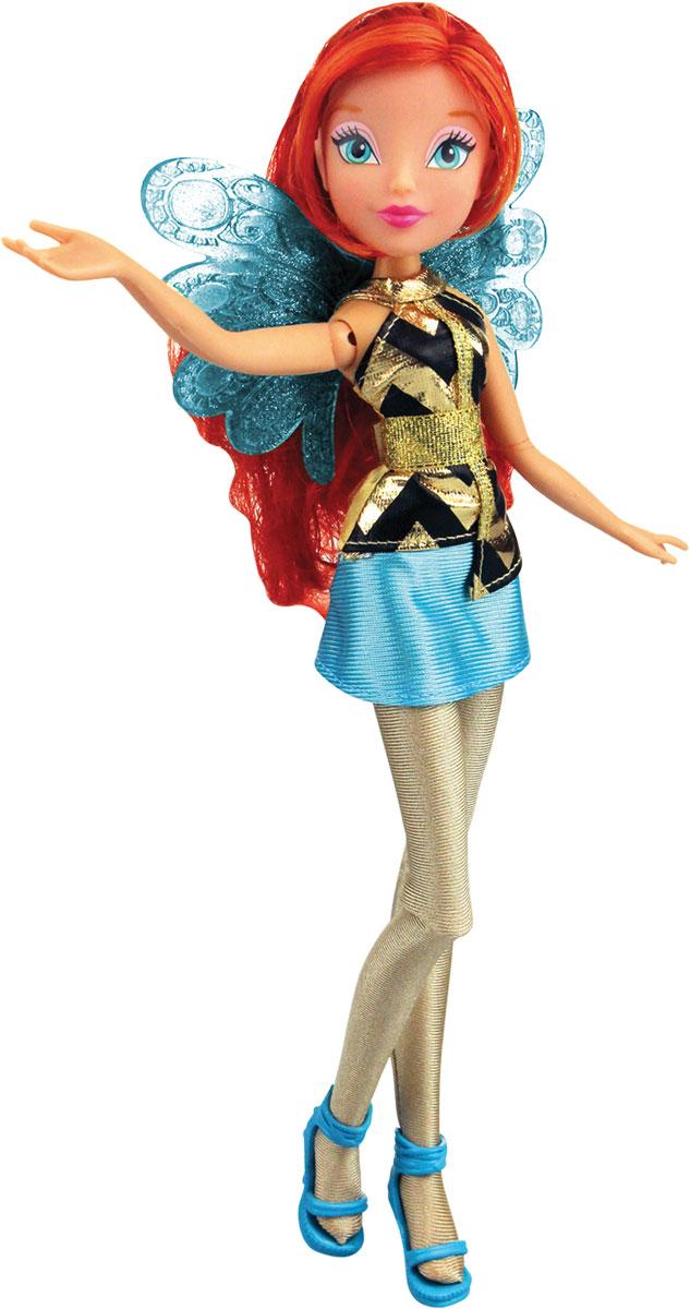 Winx Club Игровой набор с куклой Волшебный трон BloomIW01331500_BloomКаждая девочка мечтает о своей волшебной комнате с туалетным столиком, где можно привести себя в порядок, сделать прическу или просто помечтать. Игровой набор с куклой Winx Club Волшебная комната Bloom - это воплощение мечты вашей малышки. Это комната, где прекрасная фея Блум сможет отдохнуть от приключений и заняться своей внешностью. В набор входят кукла в виде Блум в одежде и обуви, игрушка-трансформер в виде волшебного трона, 2 пары туфелек и 2 сумочки. При нажатии на секретную кнопку трон преобразуется в большой гардероб с ящиками. Благодаря сгибающимся ногам кукла Блум может расположиться на удобном стульчике, а большое зеркало отразит всю красоту прекрасной феи. Все элементы набора выполнены из качественных и безопасных материалов.