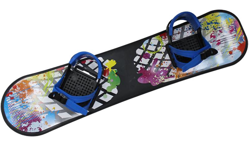 Сноуборд детский Цикл, с креплениями21669Сноуборд с двумя креплениями. Размер: 950х225 мм. Максимальная нагрузка не более 90кг. Возраст: 7+