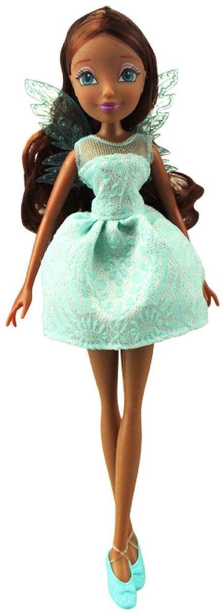 Winx Club Кукла Мисс Винкс LaylaIW01201500_LaylaОб эволюции кукол можно написать множество различных исследований, но это никак не скажется на особой любви девочек к игрушкам, которые так похожи на героинь их любимых мультфильмов. Например, эта красавица напоминает персонаж Лейлы из истории о смелых и дружных феях Винкс, поэтому особенно понравится поклонницам этого мультика. Кукла Winx Club Мисс Винкс. Layla в точности повторяет свой прототип: у нее смуглая кожа, длинные каштановые волосы и большие голубые глаза. Лицо героини выполнено очень детально и реалистично, поэтому можно даже рассмотреть макияж. Лейла одета очень стильно: короткое бирюзовое платьице с прозрачным верхом, пышным подолом и красивым узором. На ногах - яркие туфельки на каблуках, а за спиной обязательный атрибут каждой феи - прозрачные изящные крылышки. У куклы подвижные части тела (но не сгибаются), поэтому во время сюжетных игр девочки смогут придавать ей разнообразные позы. Куклы, пожалуй, самые популярные игрушки в мире. Девочки обожают играть с...
