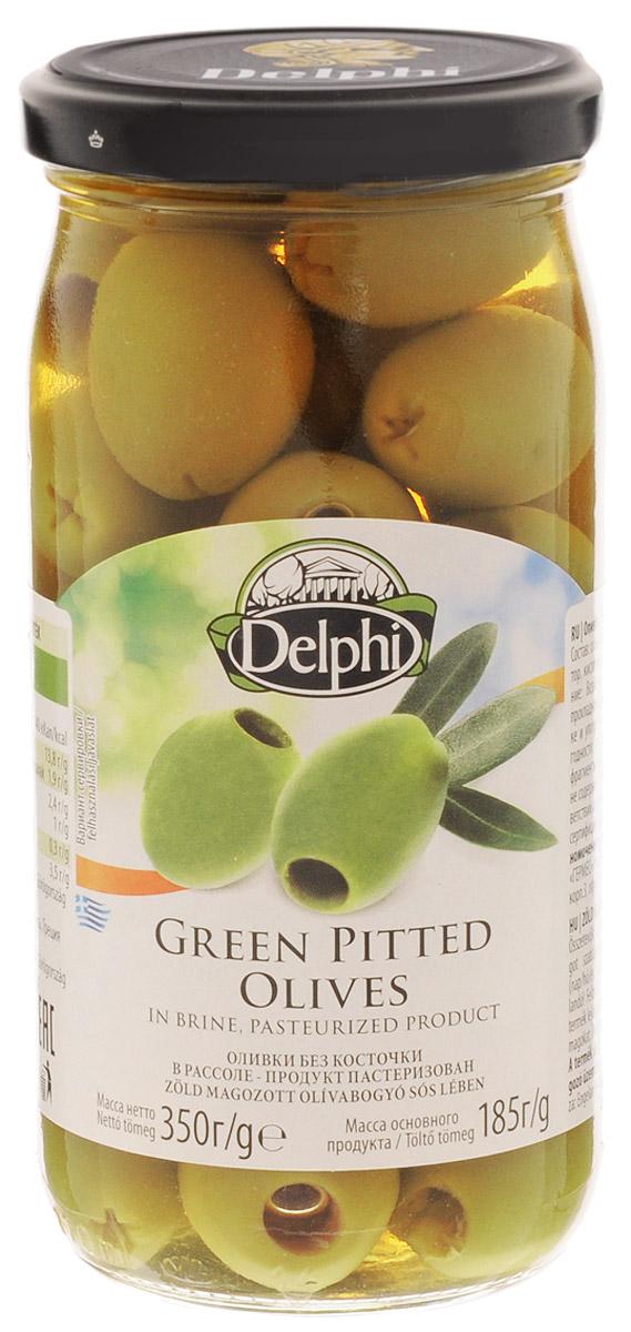 Delphi Оливки без косточек в рассоле, 350 г