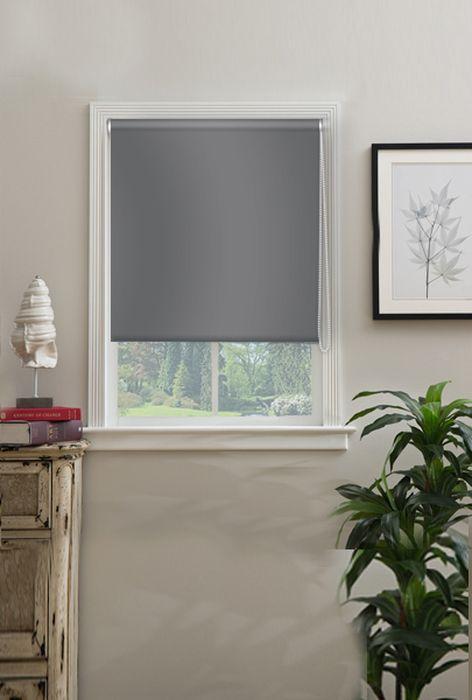 Штора рулонная Эскар Миниролло. Blackout, цвет: серый, ширина 62 см, высота 170 см34020062170Рулонная штора Эскар Миниролло. Blackout выполнена из высокопрочной ткани, не пропускающей солнечный свет. Такие шторы изготовляются из полностью светонепроницаемого материала blackout. Это свойство обеспечивается структурой ткани и специальными вплетенными нитями, удерживающими проникновение света. - Используются в кинотеатрах, фотолабораториях, детских комнатах и других помещениях, где необходимо абсолютное затемнение; - Удобны в уходе и эксплуатации. Миниролло - это подвид рулонных штор, который закрывает не весь оконный проем, а непосредственно само стекло. Такие шторы крепятся на раму без сверления при помощи зажимов или клейкой двухсторонней ленты. Окно остается на гарантии, благодаря монтажу без сверления.