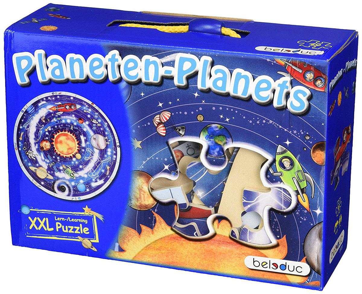 Beleduc Пазл для малышей Планеты11020Задавались ли вы когда-нибудь вопросом, что еще есть в небесах, кроме солнца, луны и звезд? Почему солнце видно только днем, а луну - только ночью? Почему месяц изменяет свою форму? И каким образом на небе возникают звезды? Пазл для малышей Beleduc Планеты поможет детям ответить на эти вопросы и познакомиться с устройством всей солнечной системы. Все детали выполнены из высококачественного материала, совершенно безопасного для маленьких детей - натурального дерева. Пазлы Beleduc рассчитаны на разные возрастные категории и уровни сложности. Но все они очень красочные, увлекательные и познавательные.