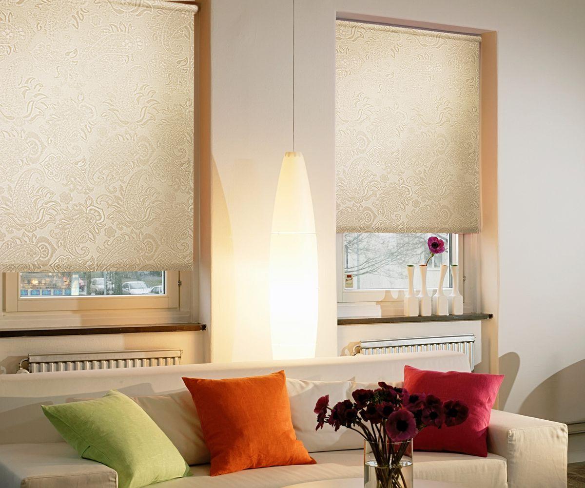 Штора рулонная для балконной двери Эскар Миниролло. Арабеска, фактурная, цвет: молочный, ширина 52 см, высота 215 см38929052215Рулонная штора Эскар Миниролло. Арабеска выполнена из высокопрочной ткани, которая сохраняет свой размер даже при намокании. Ткань не выцветает и обладает отличной цветоустойчивостью. Миниролло - это подвид рулонных штор, который закрывает не весь оконный проем, а непосредственно само стекло. Такие шторы крепятся на раму без сверления при помощи зажимов или клейкой двухсторонней ленты. Окно остается на гарантии, благодаря монтажу без сверления. Такая штора станет прекрасным элементом декора окна и гармонично впишется в интерьер любого помещения.