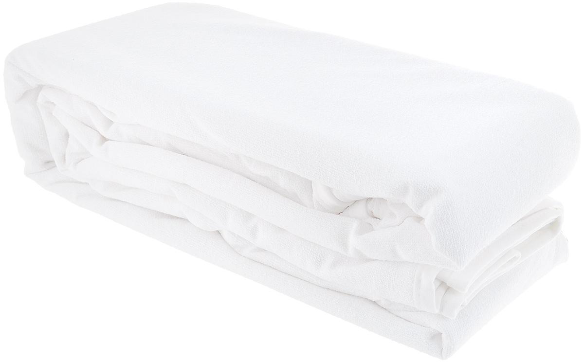 Наматрасник водонепроницаемый Acelya PVC, цвет: белый, 200 х 200 см133/6Водонепроницаемый наматрасник Acelya PVC с наполнителем из полиэстера сделает ваш сон еще комфортнее. Чехол, выполнен из 100% хлопка. Наматрасник - это идеальная защита матраса от влаги, пыли, грязи. Чехол закрывает верхнюю и боковые части матраса, быстро и легко снимается для стирки и помогает сохранить матрас в прекрасном состоянии на протяжении многих лет. Является прочным и долговечным. Быстро сохнет. Изделие оснащено резинками по углам, поэтому прочно удерживается на матрасе и избавляет вас от необходимости часто поправлять. Водонепроницаемый наматрасник Acelya PVC станет настоящей находкой.