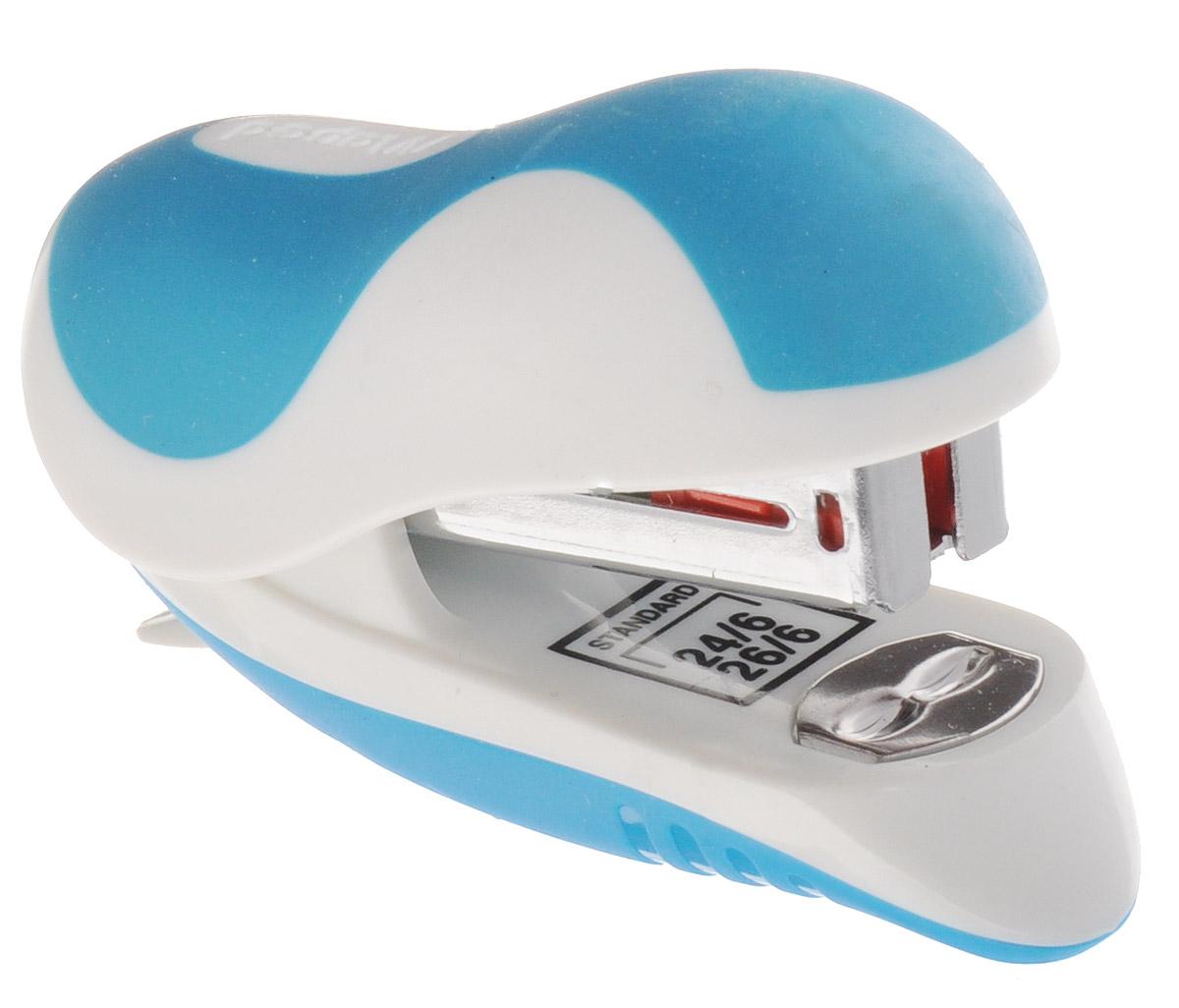 Maped Степлер Ergologic-mini для скоб 24/6 и 26/6 цвет голубой 352111_голубой