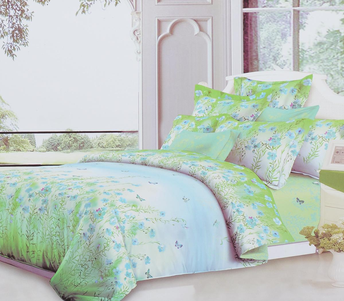 Комплект белья Primavera Classic Наслаждение, 1,5-спальный, наволочки 70х7088766Комплект постельного белья Primavera Classic Наслаждение является экологически безопасным для всей семьи, так как выполнен из высококачественного сатина (100% хлопка). Комплект состоит из пододеяльника на молнии, простыни и двух наволочек. Постельное белье оформлено ярким рисунком цветов и имеет изысканный внешний вид. Сатин - производится из высших сортов хлопка, а своим блеском и легкостью напоминает шелк. Постельное белье из сатина превращает жаркие летние ночи в прохладные и освежающие, а холодные зимние - в теплые и согревающие. Приобретая комплект постельного белья Primavera Classic Наслаждение, вы можете быть уверенны в том, что покупка доставит вам и вашим близким удовольствие и подарит максимальный комфорт.