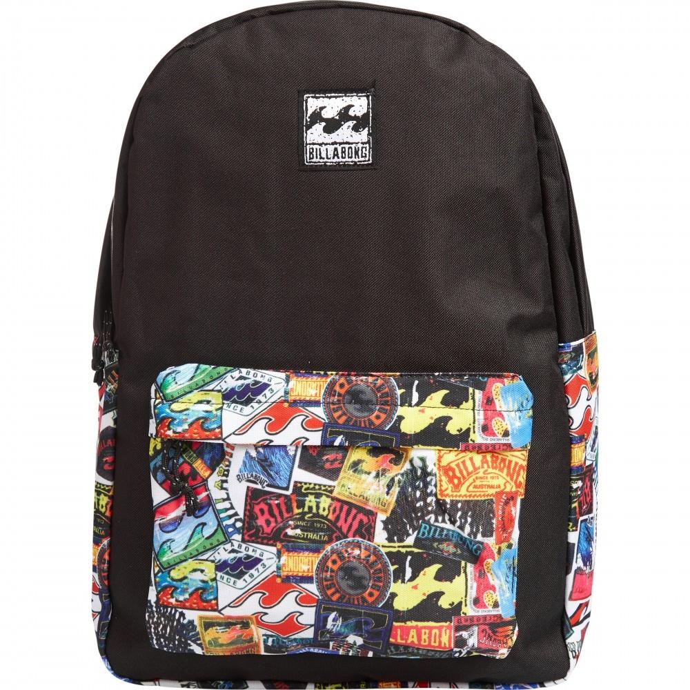 Рюкзак городской Billabong All Day, цвет: мультиколор, 20 л. Z5BP01Z5BP01Практичный вместительный рюкзак, готовый вписаться в Ваш стиль и вместить все Ваши вещи, необходимые для учебы, работы или просто прогулок по городу.