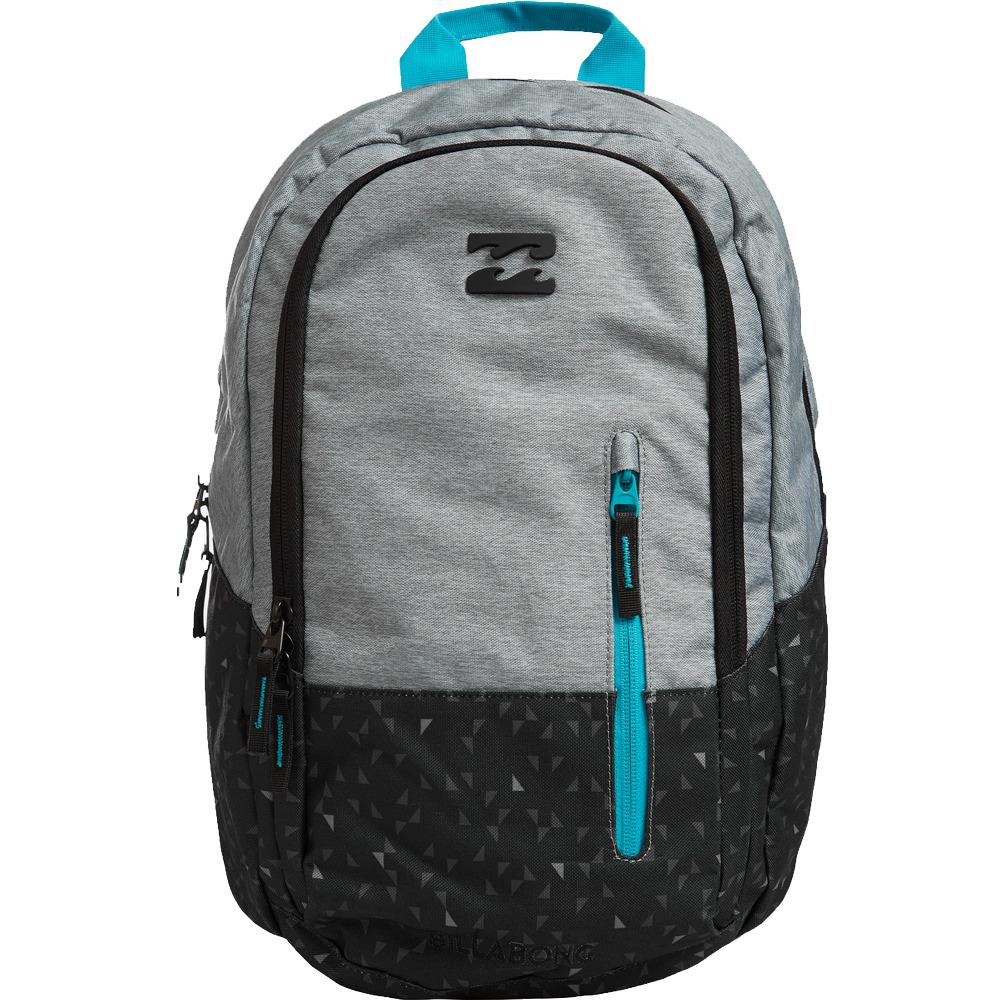 Рюкзак городской мужской Billabong Shadow, цвет: серый, вереск, 25 л. Z5BP03Z5BP03Стильный и удобный рюкзак, компактный и достаточно вместительный. Отделение под ноутбук…