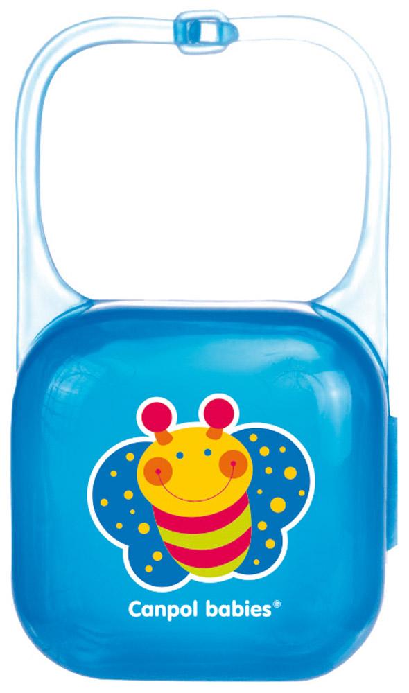 Canpol Babies Футляр для пустышки цвет синий