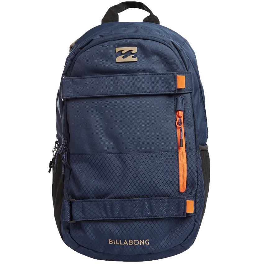 Рюкзак городской мужской Billabong No Comply, цвет: индиго, 25 л. Z5BP04Z5BP04Отличный рюкзак, с возможностью закрепить скейт. Отделение под ноутбук.