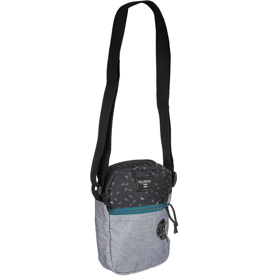 Сумка для аксессуаров мужской Billabong Boulevard Satchel, цвет: серый, вереск, 1,5 л. Z5SA01Z5SA01Стильная сумка для акссесуаров