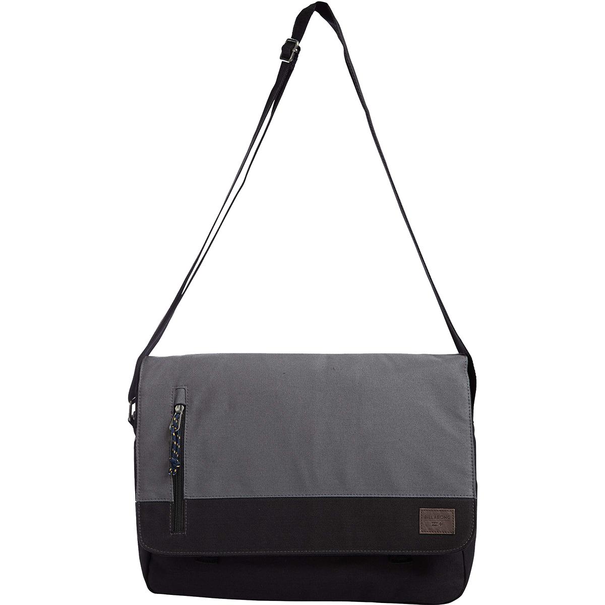 Сумка Billabong Chief Satchel, цвет: черный, 1,5 л. Z5SA03Z5SA03Стильная сумка, с которой очень удобно путешествовать. Отлично подойдет для хранения документов и прочих необходимых Вам вещей.
