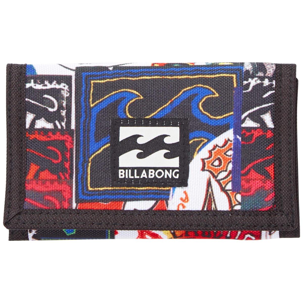 Кошелек дорожный Billabong Atom Wallet, цвет: мультиколор, 1 л. Z5WL02Z5WL02Классический тряпичный кошелек с новыми расцветками от Billabong.