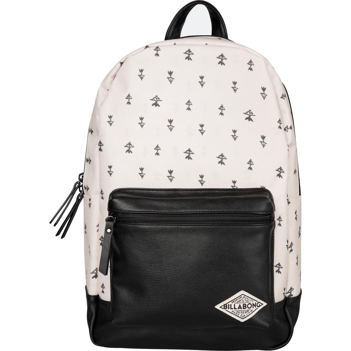 Рюкзак городской женский Billabong Personal, цвет: черный, 20 л. Z9BP03Z9BP03Практичный и вместительный женский рюкзак , готовый вписаться в Ваш стиль и вместить все Ваши вещи, необходимые для учебы, работы или просто прогулок по городу.