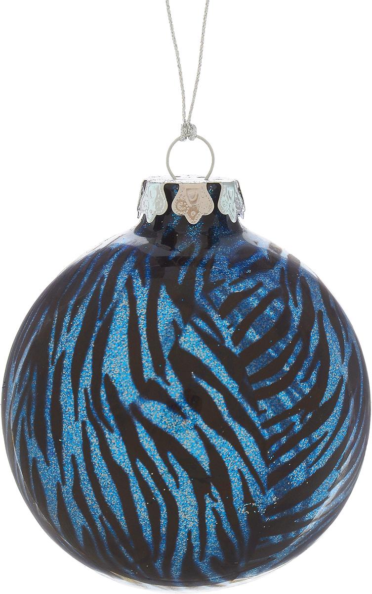 Украшение новогоднее подвесное Winter Wings Шар, диаметр 8 см. N07921N07921Новогоднее подвесное украшение Winter Wings Шар выполнено из стекла в виде шара и украшено блестками. С помощью специальной петельки украшение можно повесить в любом понравившемся вам месте. Но, конечно, удачнее всего оно будет смотреться на праздничной елке. Елочная игрушка - символ Нового года. Она несет в себе волшебство и красоту праздника. Создайте в своем доме атмосферу веселья и радости, украшая новогоднюю елку нарядными игрушками, которые будут из года в год накапливать теплоту воспоминаний.