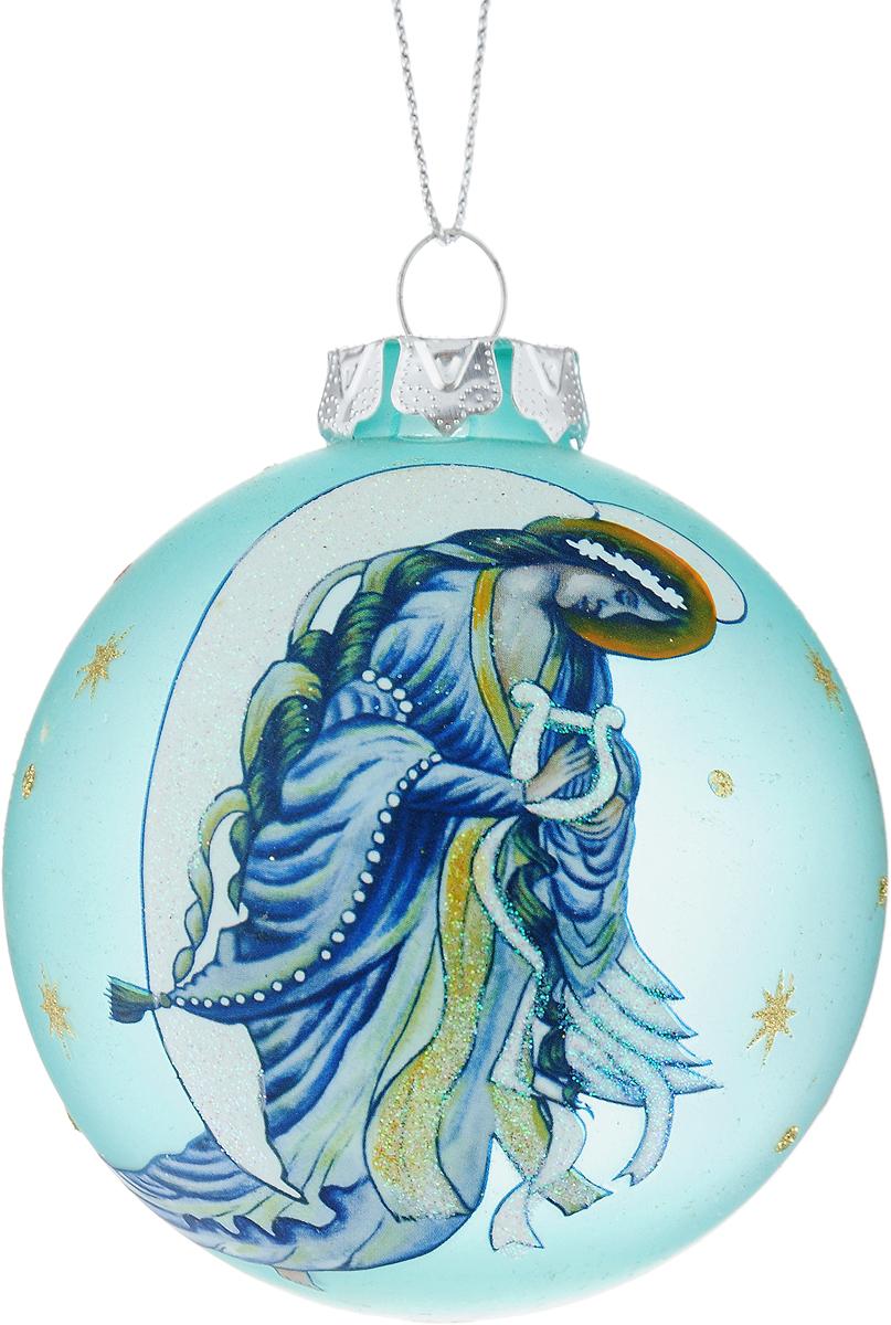Украшение новогоднее подвесное Winter Wings Шар, диаметр 8 см. N07929N07929Новогоднее подвесное украшение Winter Wings Шар выполнено из стекла в виде шара и украшено изображением ангела. С помощью специальной петельки украшение можно повесить в любом понравившемся вам месте. Но, конечно, удачнее всего оно будет смотреться на праздничной елке. Елочная игрушка - символ Нового года. Она несет в себе волшебство и красоту праздника. Создайте в своем доме атмосферу веселья и радости, украшая новогоднюю елку нарядными игрушками, которые будут из года в год накапливать теплоту воспоминаний.
