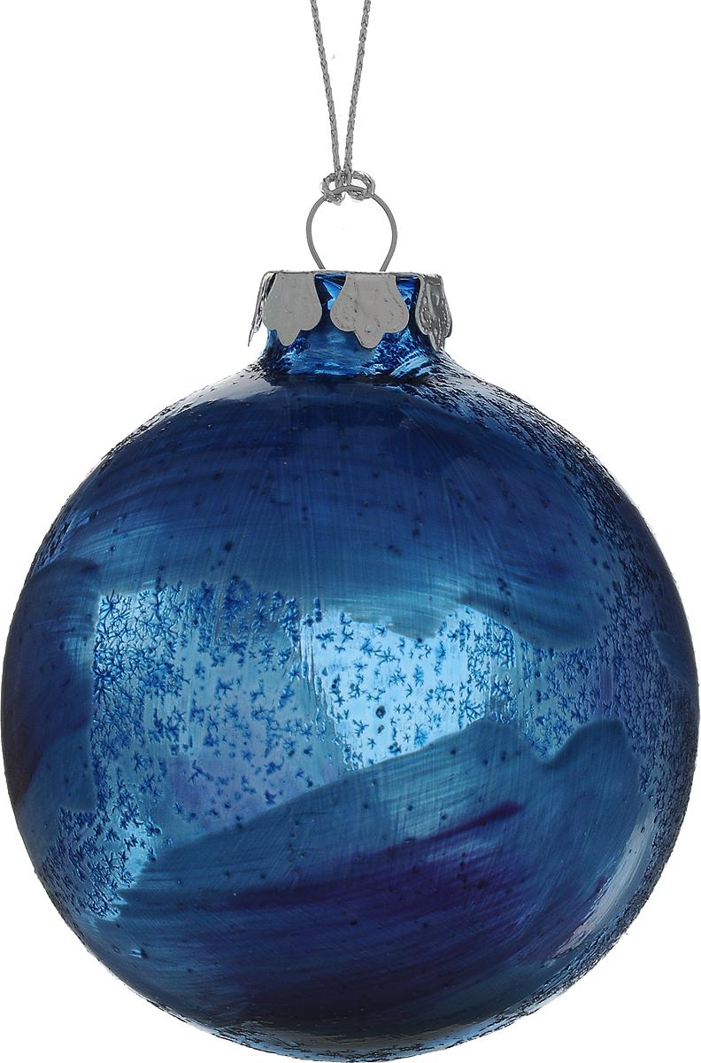 Украшение новогоднее подвесное Winter Wings Шар, диаметр 8 см. N079103N079103Новогоднее подвесное украшение Winter Wings Шар выполнено из стекла в виде шара. С помощью специальной петельки украшение можно повесить в любом понравившемся вам месте. Но, конечно, удачнее всего оно будет смотреться на праздничной елке. Елочная игрушка - символ Нового года. Она несет в себе волшебство и красоту праздника. Создайте в своем доме атмосферу веселья и радости, украшая новогоднюю елку нарядными игрушками, которые будут из года в год накапливать теплоту воспоминаний.