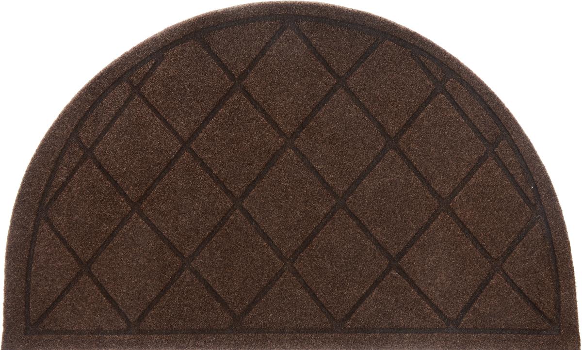 Коврик придверный EFCO Оскар. Ромбы, цвет: коричневый, 65 х 40 см10984_коричневыйОригинальный придверный коврик EFCO Оскар. Ромбы надежно защитит помещение от уличной пыли и грязи. Изделие выполнено из 100% полипропилена, основа - латекс. Такой коврик сохранит привлекательный внешний вид на долгое время, а благодаря латексной основе, он легко чистится и моется.