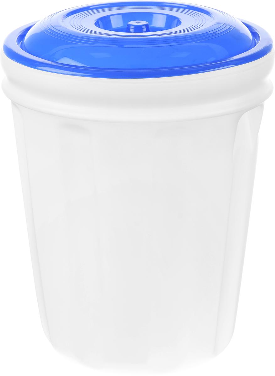 Бак Альтернатива, цвет: белый, синий, 40 лM458_синий/белыйБак Альтернатива, изготовленный из прочного пищевого пластика, предназначен для транспортировки и хранения пищевых жидкостей. Изделие безопасно для здоровья, герметично, устойчиво к ударам, легко очищается и не сохраняет нежелательных запахов. Имеет широкое удобное отверстие, которое закручивается крышкой, а для удобства переноски имеются встроенные ручки. Изделие можно использовать на дачных участках для хранения поливочной воды, компоста, в качестве емкости для сыпучих строительных материалов. Высота бака: 51 см.