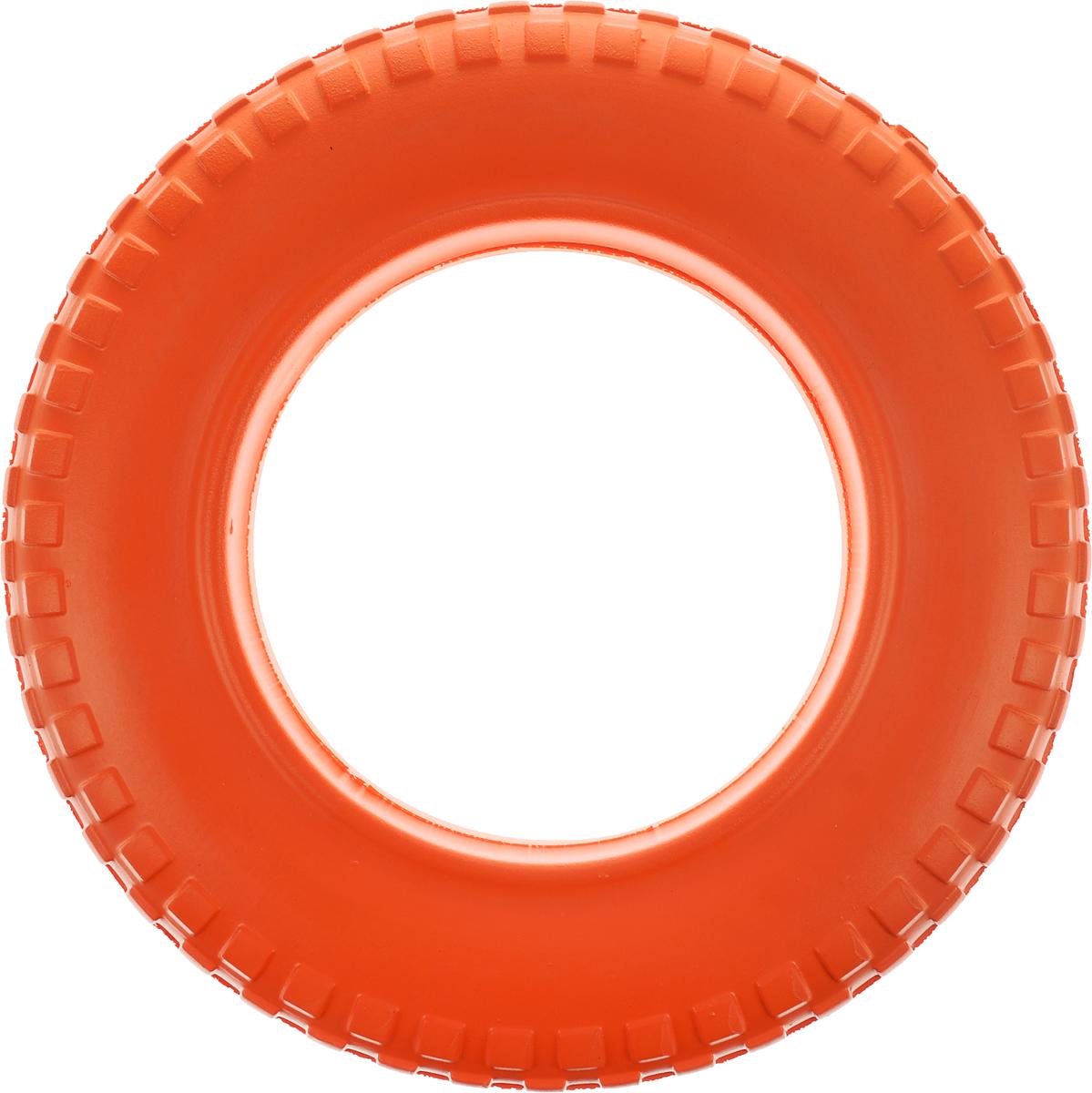 Игрушка для животных Doglike Шинка для колеса. Мега, диаметр 36 смDH 7516Doglike Шинка для колеса. Мега - простая и незамысловатая игрушка для собак, которая способна решить многие проблемы здоровья вашего четвероногого любимца. Если ваш пёс портит мебель, излишне агрессивен, непослушен или страдает излишним весом то, скорее всего, корень всех бед кроется в недостаточной физической и эмоциональной нагрузке. Порадуйте своего питомца прекрасным и качественным подарком. Диаметр игрушки: 36 см.