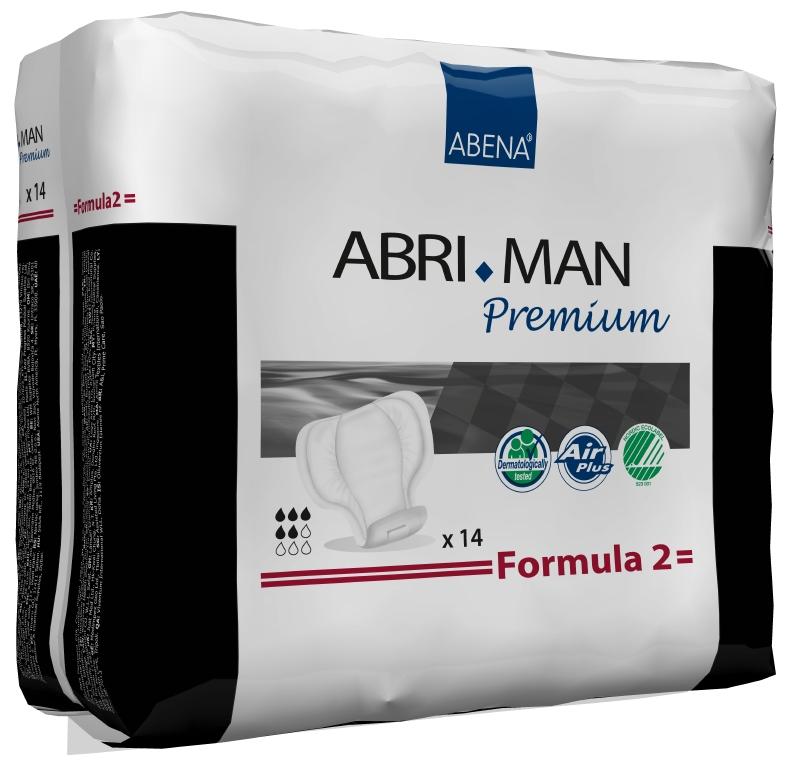 Abena Прокладки урологические мужские Abri-Man Formula 2 14 шт 4100741007Мужские прокладки Abri-Man Formula 2, 14 шт, 700 мл - множество мужчин страдает от недержания в том или ином виде. Abri-Man предлагает решения, позволяющие вести полноценную активную жизнь. Преимущества вкладышей и прокладок Abri-Man: ? специально для мужчин, ? превращают жидкость в гель, запирая запах изнутри, ? гарантированная сухость за счет инновационной технологии быстрого впитывания, ? гипоаллергенные экологически чистые материалы, ? экономичны благодаря системе «2-в-1». Abri-Man Formula 1, 2 максимальная защита от протекания благодаря уникальным бортикам в форме кармашков, расположенным по длине прокладки; оптимальный комфорт и безопасность за счет особой формы, соответствующей мужской анатомии; прокладка с самоклеющимися полосками может использоваться в сочетании с плотно прилегающим нижним бельем или, в идеале, со специально разработанным фиксирующим бельем Abri-Fix.