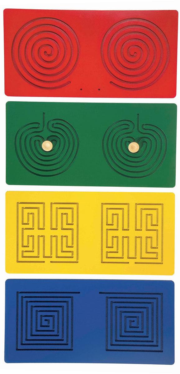 Beleduc Развивающие панели Тандем23614Развивающие панели Beleduc Тандем помогут развить зрительно-тактильную координацию и мелкую моторику ребенка, благодаря чему он научится читать и писать, а также сосредотачивать внимание. С помощью специальных штифтов ребенок производит различные движения руками по шаблонам. Подходит для людей с ограниченными возможностями.
