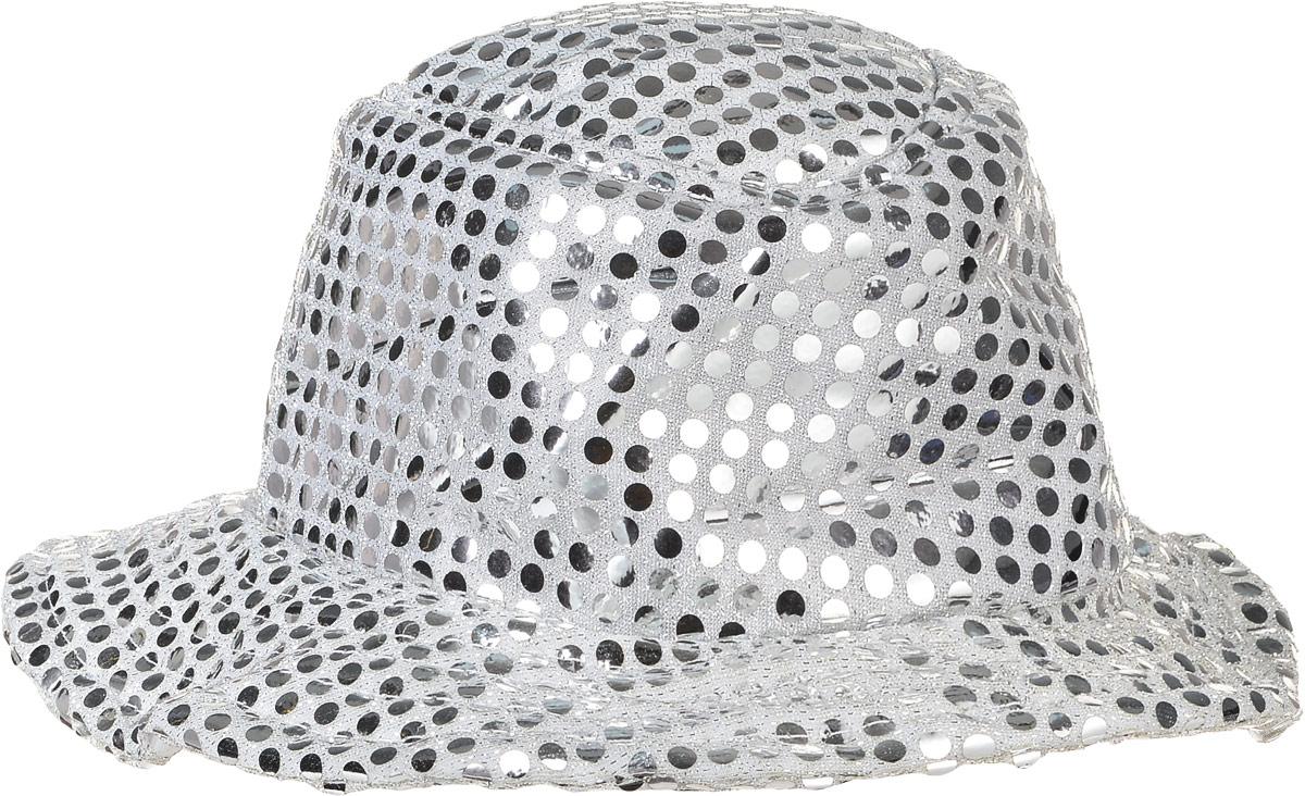 Rio Аксессуар для карнавального костюма Блестящая шляпа8112Блестящая шляпа Rio - это аксессуар для карнавального костюма, который представляет собой небольшую шляпку, декорированную серебряными блестками. Аксессуар выполнен из качественных материалов. Данный реквизит внесет нотку задора и веселья в праздник и станет завершающим штрихом в создании полного образа.