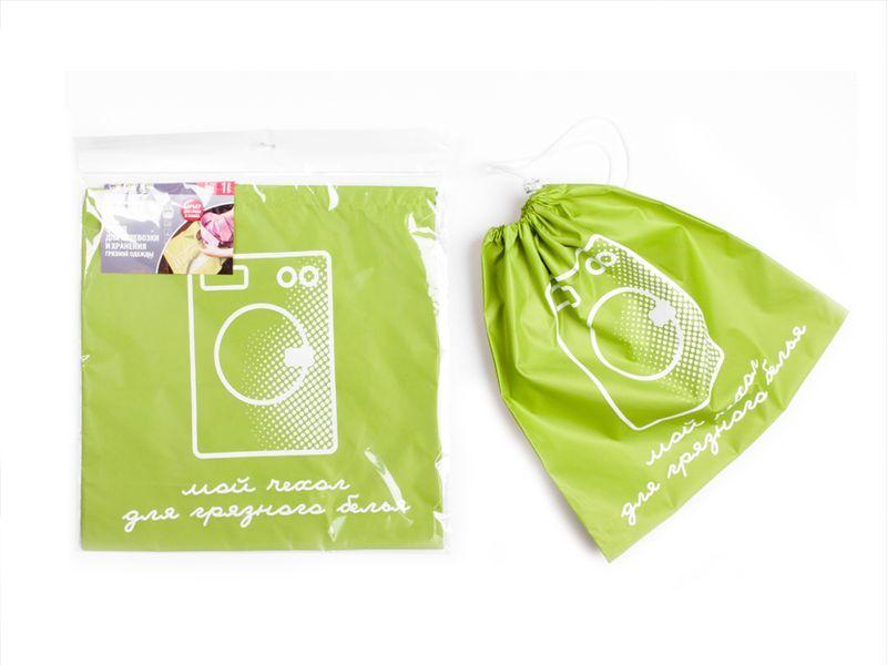 Чехол Paterra для перевозки грязной одежды, с затяжным шнуром, 40 х 40 см409-018Чехол Paterra, выполненный из прочного нейлона, обеспечите наилучший способ хранения и транспортировки грязных вещей, а также полностью исключите контакт между чистой и грязной одеждой в вашем чемодане. Чехол имеет особые усиленные швы, поэтому максимально устойчив к значительным механическим воздействиям. Сверху чехол надежно закрывается при помощи затяжного шнура и карабина. Размер чехла: 40 х 40 см.