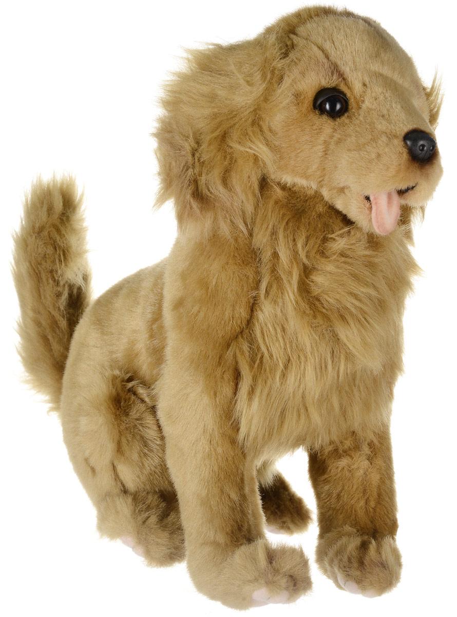 Hansa Toys Мягкая игрушка Золотистый ретривер 28 см6184Золотистый ретривер - охотничья порода собак, выведенная в Великобритании в XIX веке. Это выносливая и энергичная собака, обладает хорошей памятью и чутьем, которое позволяет ей прекрасно работать как на суше, так и на воде, где она способна отыскать подбитую дичь. Изначально золотистые ретриверы были выведены для работы на охоте (подача дичи). В настоящее время ретриверы с успехом освоили и другие виды службы человеку. Золотистый ретривер - это собака гармоничного телосложения с крепкими мускулистыми конечностями и округлыми лапами. Шерсть прямая либо волнистая, толстый подшерсток плохо пропускает воду. Окрас может состоять из любого оттенка золотого или кремового цвета. Мягкая игрушка Hansa Toys Золотистый ретривер обязательно понравится вам и вашему малышу, а также познакомит вас с этим животным.