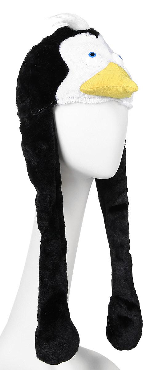 Карнавалия Карнавальная шляпа Пингвинчик размер 5491043Карнавальная шляпа Карнавалия Пингвинчик выполнена из мягкого бархатистого полиэстера. Изделие представляет собой шапку в виде головы пингвина с длинными лапами. Такая карнавальная шляпа великолепно дополнит образ вашего персонажа, подчеркнет его характер и сформирует облик в целом. Если у вас намечается веселая вечеринка или маскарад, то такая шляпа легко поможет создать праздничный наряд. Внесите нотку задора и веселья в ваш праздник. Веселое настроение и масса положительных эмоций вам будут обеспечены!