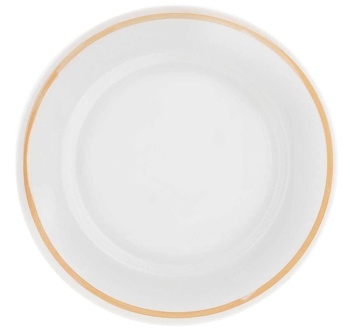 Тарелка десертная Фарфор Вербилок, диаметр 20 см. 81212408121240Десертная тарелка Фарфор Вербилок, изготовленная из фарфора. Такая тарелка прекрасно подходит как для торжественных случаев, так и для повседневного использования. Идеальна для подачи десертов, пирожных, тортов и многого другого. Она прекрасно оформит стол и станет отличным дополнением к вашей коллекции кухонной посуды. Диаметр тарелки (по верхнему краю): 20 см.