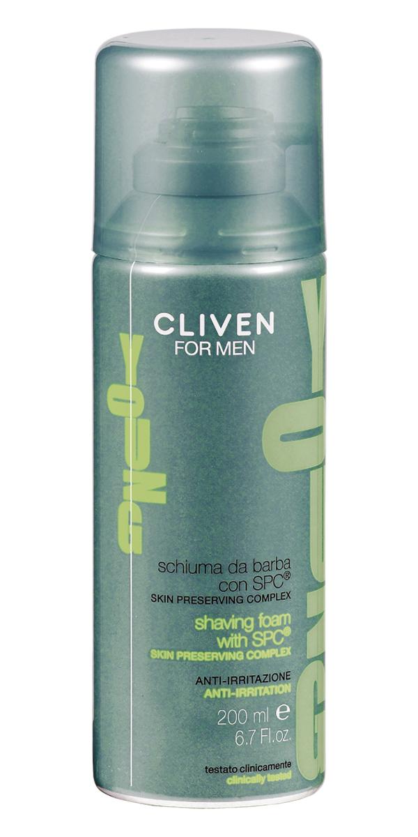Cliven Young Пена для бритья 200мл7584Пена содержит эфективный комплекс, восстаноавливающий водный баланс кожи. Гарантирует ежедневное увлажнение и эластичность кожи.