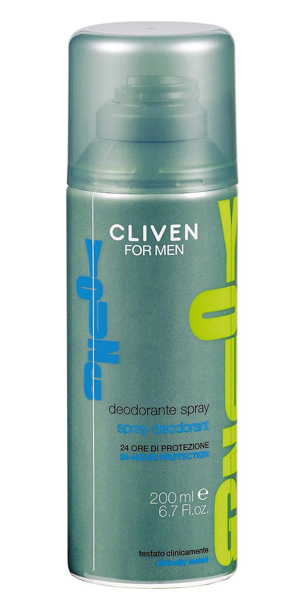 Cliven Young Дезодорант-спрей 200мл7586Дезодорант-спрей Cliven For Men Young освежит и придаст приятный аромат.