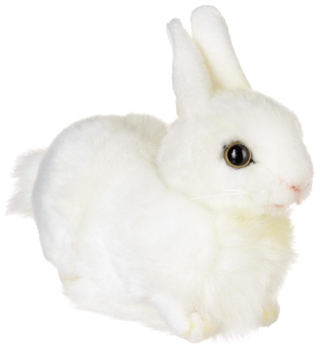 Hansa Toys Мягкая игрушка Кролик 17 см2832Кролики принадлежат к семейству зайцевых, длина их тела составляет 30-60 см, вес колеблется от 1 до 5 кг. Уши у них длинные (не менее 50% длины головы), заостренные на конце, у основания они образуют трубку. Задние ноги у большинства видов значительно длиннее передних. Кролики распространены по всему миру. Они питаются преимущественно по ночам, в основном травами, корой деревьев и овощами. Кролики отличаются от зайцев тем, что их детеныши обычно рождаются слепыми и голыми и выращиваются в норах. Живет кролик в среднем около 10 лет. Мягкая игрушка Hansa Toys Кролик обязательно понравится вам и вашему малышу, а также познакомит вас с этим животным.