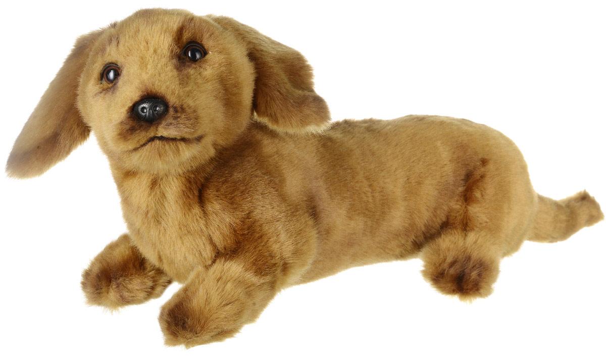 Hansa Мягкая игрушка Такса щенок 40 см