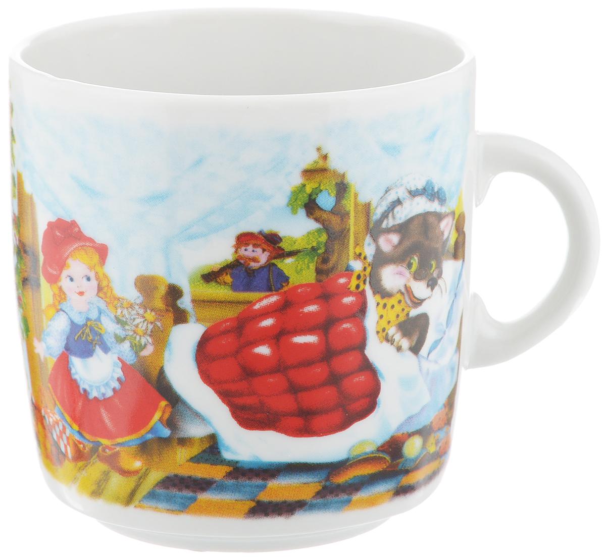 Кружка Фарфор Вербилок Красная шапочка, 210 мл8713340Кружка Фарфор Вербилок Красная шапочка способна скрасить любое чаепитие. Изделие выполнено из высококачественного фарфора. Посуда из такого материала позволяет сохранить истинный вкус напитка, а также помогает ему дольше оставаться теплым. Диаметр по верхнему краю: 7 см. Высота кружки: 7,5 см.