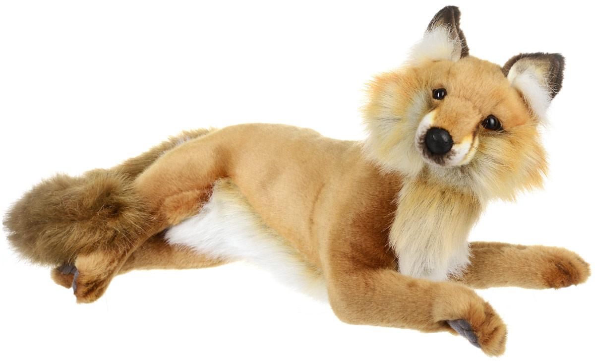 Hansa Toys Мягкая игрушка Рыжая Лисица 45 см4765Рыжая лисица - хищное млекопитающее семейства псовых, наиболее распространённый и самый крупный вид рода лисиц. Длина тела 60-90 см, хвоста - 40-60см, масса-6-10 кг. Наиболее распространенный окрас: ярко-рыжая спина, белое брюхо, темные лапы. Часто у лисиц присутствуют бурые полосы на хребте и лопатке, похожие на крест. Лисы - хорошие родители. Самцы принимают активное участие в воспитании потомства, а также заботятся о подругах еще до появления лисят. Они благоустраивают норы, даже ловят у самок блох. В случае гибели отца, его место занимает другой холостой самец, порой лисы даже дерутся между собой за право стать отчимом. Мягкая игрушка Hansa Toys Рыжая Лисица обязательно понравится вам и вашему малышу, а также познакомит вас с этим животным.