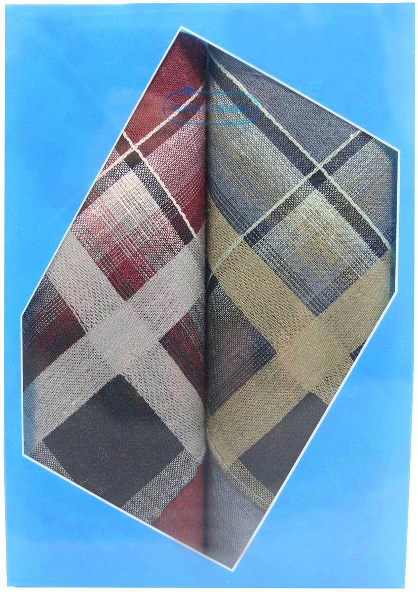 Платок носовой мужской Zlata Korunka, цвет: бордовый, светло-коричневый, черный, 2 шт. 40213-1. Размер 38 см х 38 см40213-1Оригинальный мужской носовой платок Zlata Korunka изготовлен из высококачественного натурального хлопка, благодаря чему приятен в использовании, хорошо стирается, не садится и отлично впитывает влагу. Практичный и изящный носовой платок будет незаменим в повседневной жизни любого современного человека. Такой платок послужит стильным аксессуаром и подчеркнет ваше превосходное чувство вкуса. В комплекте 2 платка.