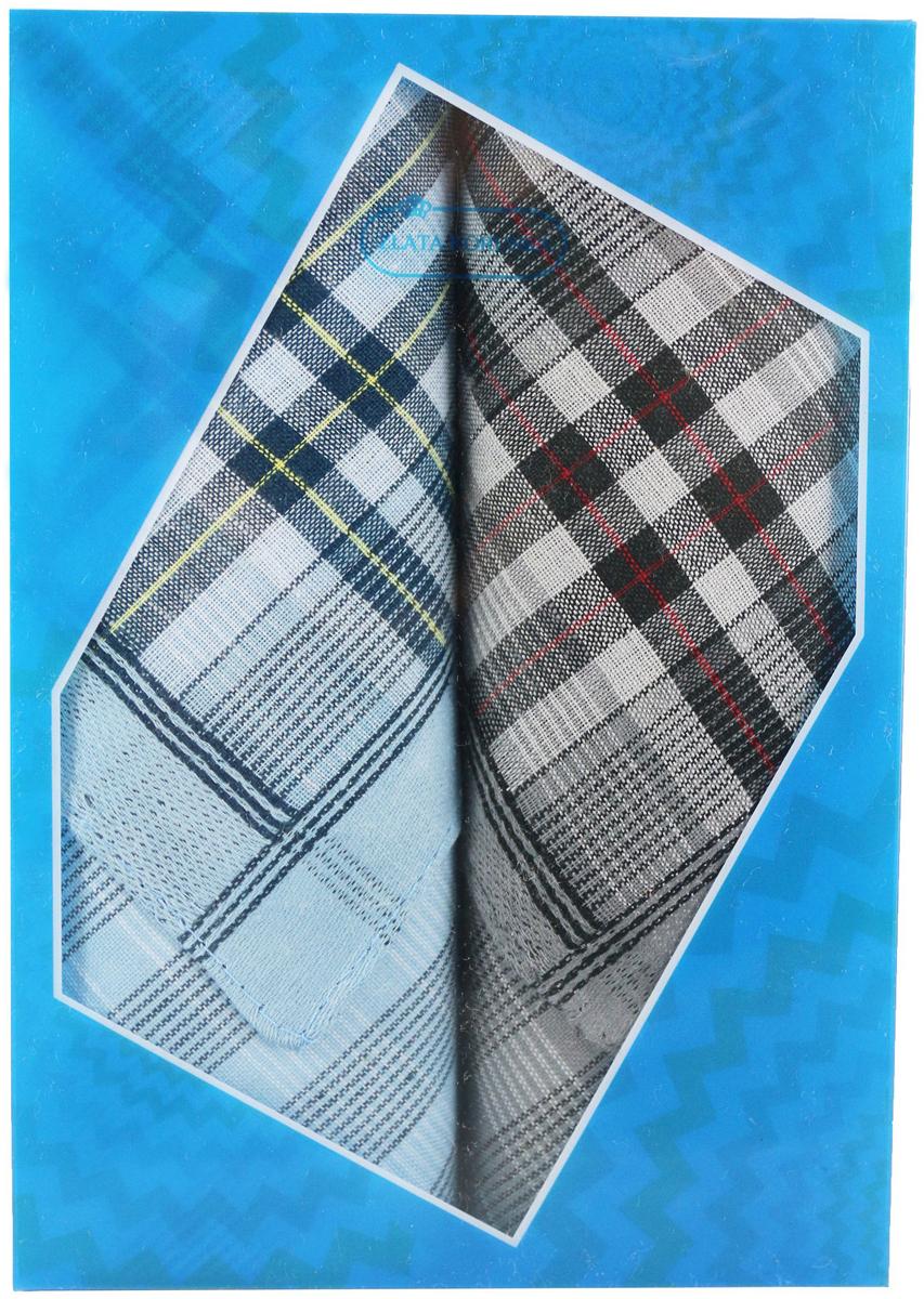 Платок носовой мужской Zlata Korunka, цвет: мультиколор, 2 шт. 40213-15. Размер 38 х 38 см40213-15Платки носовые мужские в упаковке по 2 шт. Носовые платки изготовлены из 100% хлопка, так как этот материал приятен в использовании, хорошо стирается, не садится, отлично впитывает влагу. Размер: 28 х 28..