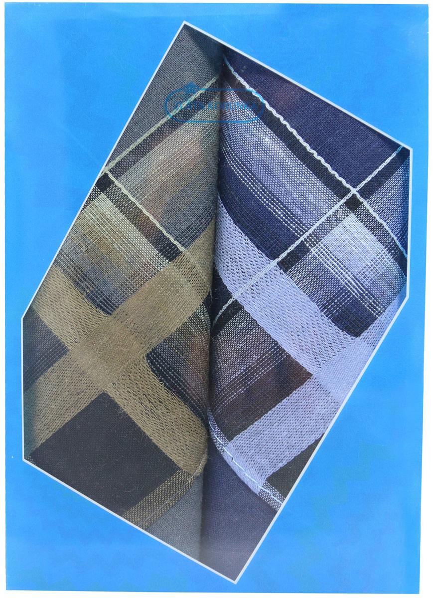 Платок носовой мужской Zlata Korunka, цвет: мультиколор, 2 шт. 40213-2. Размер 38 х 38 см40213-2Платки носовые мужские в упаковке по 2 шт. Носовые платки изготовлены из 100% хлопка, так как этот материал приятен в использовании, хорошо стирается, не садится, отлично впитывает влагу. Размер: 28 х 28..