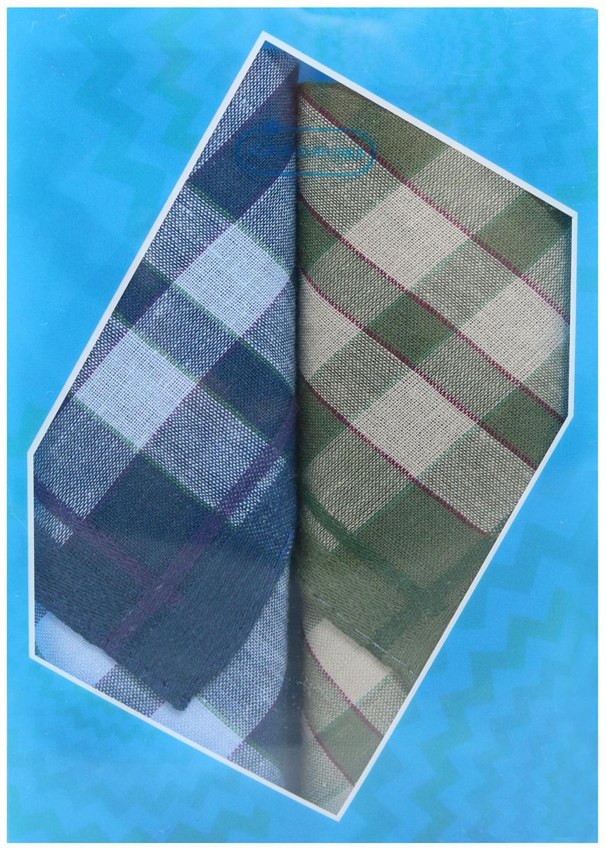 Платок носовой мужской Zlata Korunka, цвет: мультиколор, 2 шт. 40213-27. Размер 38 х 38 см40213-27Платки носовые мужские в упаковке по 2 шт. Носовые платки изготовлены из 100% хлопка, так как этот материал приятен в использовании, хорошо стирается, не садится, отлично впитывает влагу. Размер: 28 х 28..