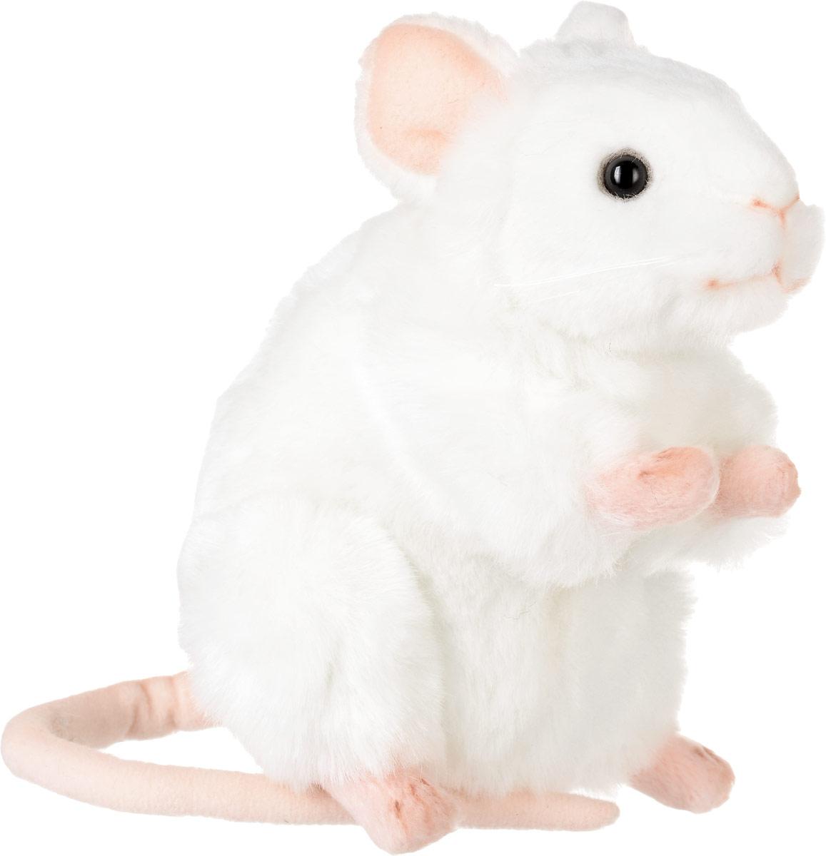 Hansa Toys Мягкая игрушка Белая мышь 16 см5323Мыши - семейство млекопитающих из отряда грызунов. Распространены повсеместно. Белые мыши широко используются для научных экспериментов. У мышей мягкий мех, чаще всего светло-бежевый. Едят любые растения, семена, пищу животного происхождения. Длина в среднем 17 см, из которых 8 см составляет хвост. Домашние мыши из-за лучшей пищи часто более крупные. Размножаются каждые 10-17 недель. Потомство достигает 5-10 мышат. Мягкая игрушка Hansa Toys Белая мышь обязательно понравится вам и вашему малышу, а также познакомит вас с этим животным.