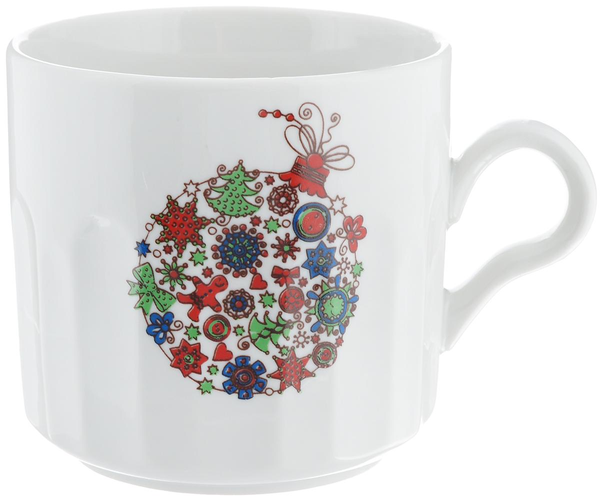 Кружка Фарфор Вербилок Разноцветные шары, 500 мл5723140Кружка Фарфор Вербилок Разноцветные шары способна скрасить любое чаепитие. Изделие выполнено из высококачественного фарфора. Посуда из такого материала позволяет сохранить истинный вкус напитка, а также помогает ему дольше оставаться теплым. Диаметр по верхнему краю: 9,5 см. Высота кружки: 9,5 см.