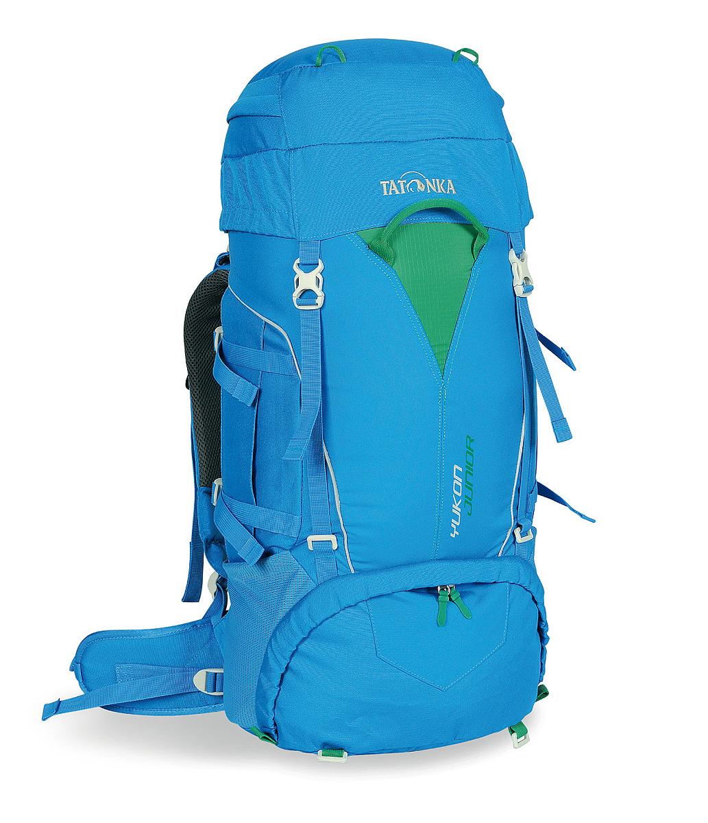 Детский походный рюкзак Tatonka Yukon Junior, цвет: синий, 27л1410.194Детский походный рюкзак с оптимальными параметрами для размещения необходимых вещей