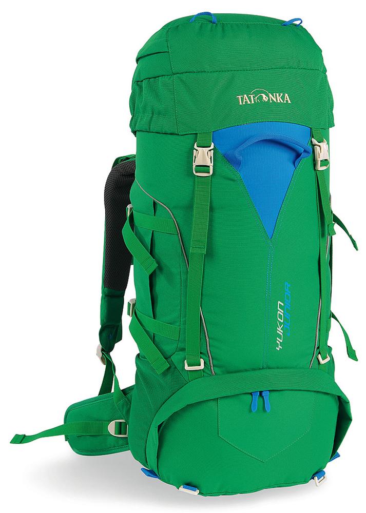 Детский походный рюкзак Tatonka Yukon Junior, цвет: зеленый, 27л1410.404Детский походный рюкзак с оптимальными параметрами для размещения необходимых вещей