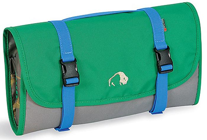 Складная сумка-косметичка Tatonka Travelkit, цвет: темно-зеленый2805.404Сумка полностью раскладывается, оснащена множеством отделений и небьющимся зеркальцем.