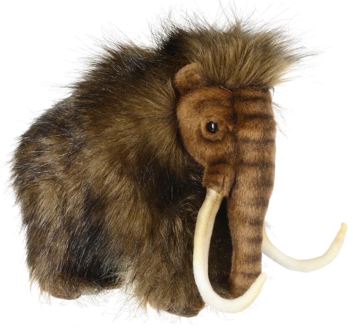 Hansa Toys Мягкая игрушка Мамонт 32 см4660Мамонты - вымерший род млекопитающих из семейства слоновых. Достигали высоты 5,5 метров и массы тела 10-12 тонн. Таким образом, мамонты были в два раза тяжелее самых крупных современных наземных млекопитающих - африканских слонов. Мамонты вымерли около 10 тысяч лет назад во время последнего Ледникового периода. Мамонты отличались от слонов не только размерами - у них также была шерсть и длинные изогнутые бивни. Продолжительность их жизни составляла 60 лет, также как и у современных слонов. Мягкая игрушка Hansa Toys Мамонт обязательно понравится вам и вашему малышу, а также познакомит вас с этим животным.
