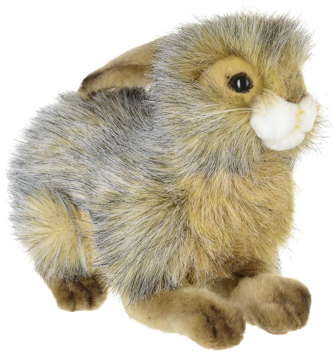 Hansa Toys Мягкая игрушка Кролик 25 см6284Кролики принадлежат к семейству зайцевых, длина их тела составляет 30-60 см, вес колеблется от 1 до 5 кг. Уши у них длинные (не менее 50% длины головы), заостренные на конце, у основания они образуют трубку. Задние ноги у большинства видов значительно длиннее передних. Кролики распространены по всему миру. Они питаются преимущественно по ночам, в основном травами, корой деревьев и овощами. Кролики отличаются от зайцев тем, что их детеныши обычно рождаются слепыми и голыми и выращиваются в норах. Живет кролик в среднем около 10 лет. Мягкая игрушка Hansa Toys Кролик обязательно понравится вам и вашему малышу, а также познакомит вас с этим животным.