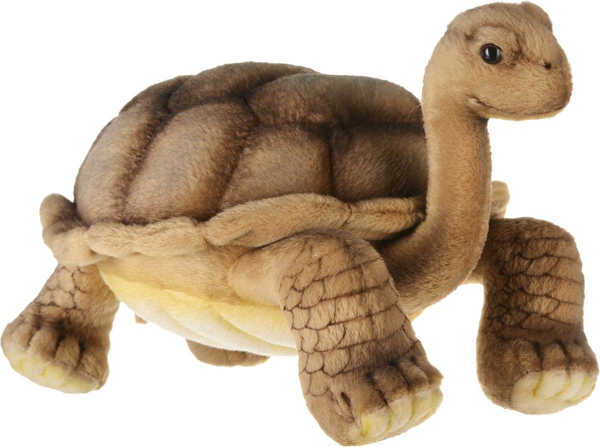 Hansa Toys Мягкая игрушка Галапагосская черепаха 30 см6461Семейство черепах содержит около 230 современных видов, группируемых в 12 семейств, распространенных в тропической и умеренной климатических зонах почти на всей Земле и живущих как в воде, так и на суше. Черепахи являются плотоядными и травоядными. Все виды откладывают яйца, которые закапывают в ямы. Черепахи - долгожители, некоторые виды живут более 100 лет. Мягкая игрушка Hansa Toys Галапагосская черепаха обязательно понравится вам и вашему малышу, а также познакомит вас с этим животным.